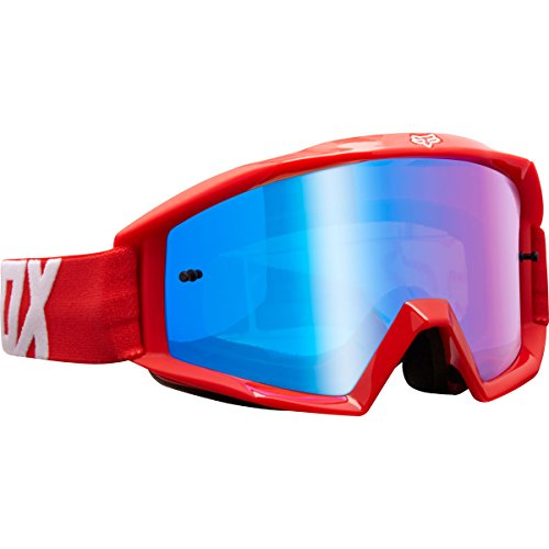 Fox Racing Main Youth Race Youth MX Motorcycle Goggles Eyewear - Red / No (Fox Goggles)