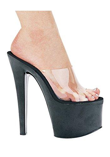 Platform Women's Black Shoes Vanity Ellie 711 Sandal Clear q6wfxpgn
