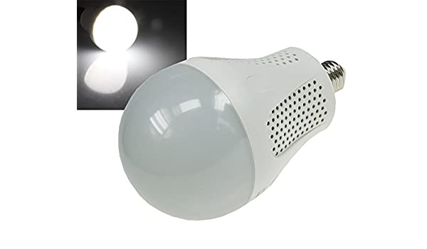 superluminosa Bombilla LED E27 30 W=2200 lúmenes blanco luz diurna, Daylight 4200 K: Amazon.es: Iluminación