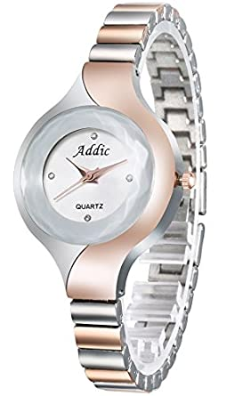 Addic Uber Cool Designer Dual Tone Girls & Women's Watch.