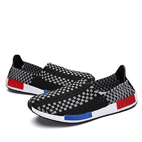 Casual And Models Black Sports Hand 36 Set Couple Elastic Shoes Shoes Men Knitted Water Breathable Women Foot Comfortable For Blue Sliding Shoes vwdpd8Oq