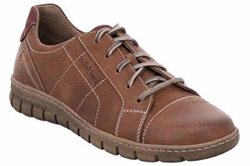 Zapatos Combi Para Josef De Marrón Mujer Seibel Chestnut Cordones 8gq5U