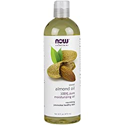 NOW Sweet Almond Oil, 16 oz