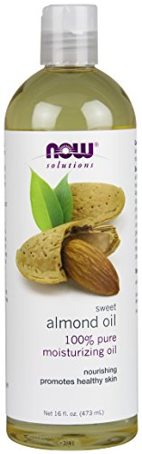 NOW Sweet Almond Oil, 16-Ounce