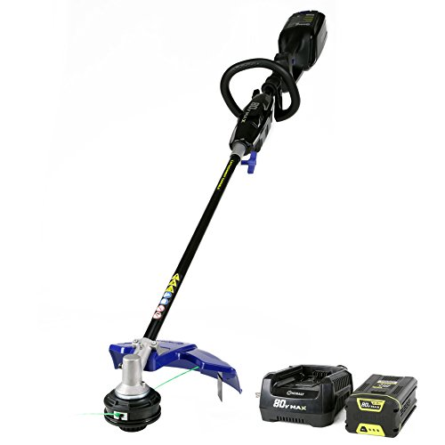 Kobalt 80-Volt Max 16-in Straight Brushless Cordless String Trimmer with 2.0-Ah Battery & Charger -  KST 140XB-06