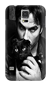Steven L.Cummings Tough armor tpu phone case/cover with textures for Samsung Galaxy s5 (Ian Somerhalder)
