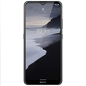 Nokia 2.4 Android 10 Smartphone with Large HD+ Screen, Night Mode and Portrait Mode, 2-Day Battery Life | Charcoal…