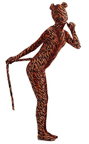 (AOVEI Zentai Suits Full Body Spandex Lycra Suit Hollween Bodysuit for Kids Second Skin Suit)