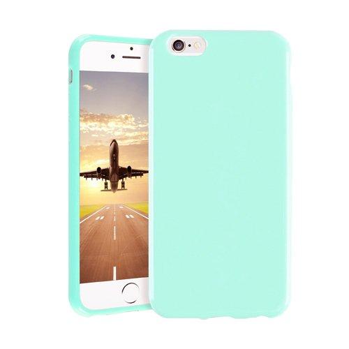 E8Q TPU suave de silicona del caramelo de goma colorida Caja protectora para Iphone 5C Rosado