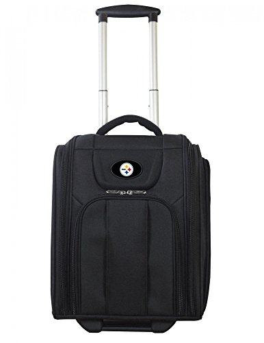 NFL Pittsburgh Steelers Deluxe Wheeled Laptop Overnighter by Denco
