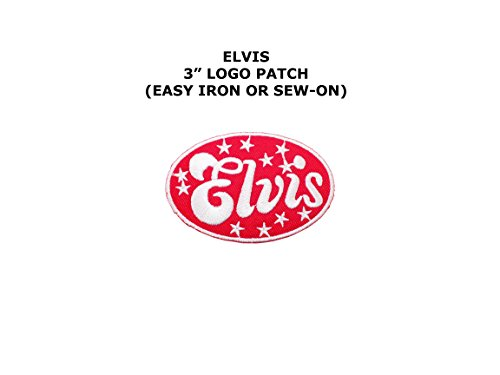 Elvis Metal Rock Punk Indy Music Band DIY Embroidered Sew or Iron-on Applique Patch Outlander - Diy Elvis Costume