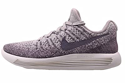 Nike Womens Lunarepic Low Flyknit 2 Running Shoe (8, Provence Purple/Pure Platinum/Night Purple/Dark Raisin)