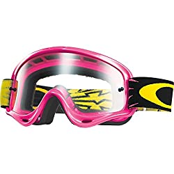 Oakley Xs O-frame Mx High Voltage Goggles (Pink Frame Wclear Lens)