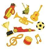FMM Music & Sport Cutter Set, Includes 10 different cutters