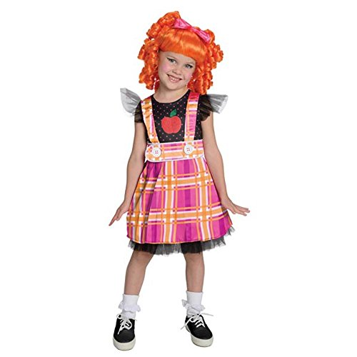 Lalaloopsy Deluxe Bea Spells-A-Lot Costume, Small
