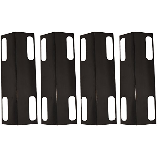 99351(4-pack) Porcelain Steel Heat Plate Heat Spreader Plate,Ducane Affinity Heat Plates Replacement for Select Ducane Gas Grill Models,Dukane Affinity Gas Grill Cover,30501013 ()