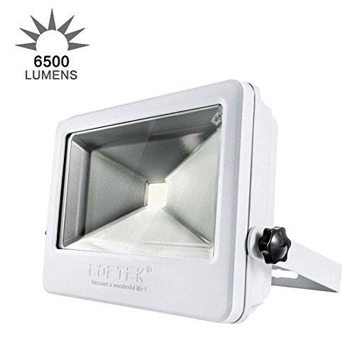 LOFTEK 50W Daylight White Floodlight, Super Bri...