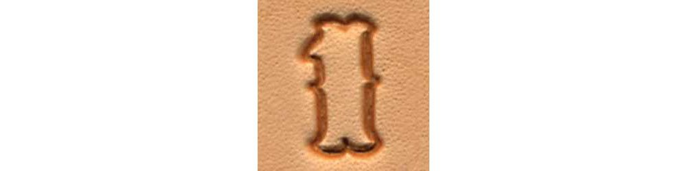 Tandy Leather Craftool� 1/2'' (13 mm) Standard Number Set 8136-00 by Tandy Leather