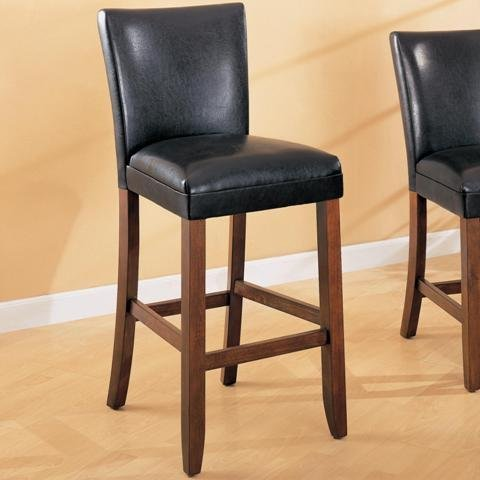 Coaster Stools Leather Cherry 29 Inch