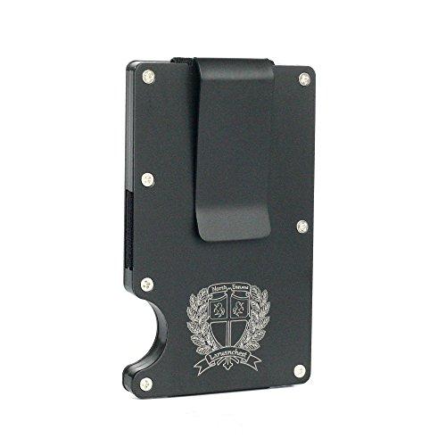 Metal Wallet, Minimalist Wallet, Money Clip, Slim Wallet & RFID Blocking Front Pocket Wallet, Aluminum Wallet for Men And Women