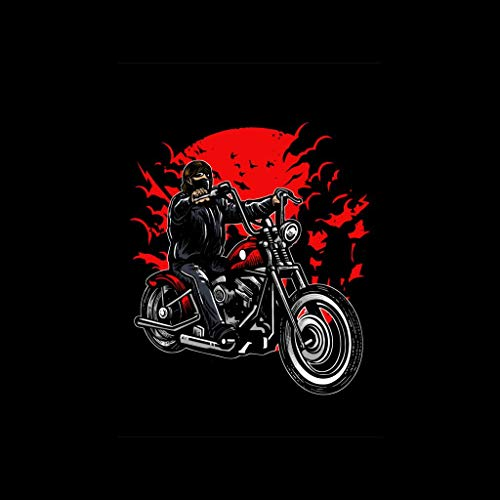Women's Zombie Sweatshirt Slayer Black Bike On Hooded xwwg8FCqH