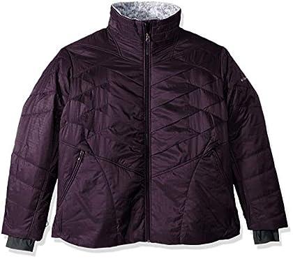Columbia Kaleidaslope Ii Plus Size Jacket, 2X, Dark Plum