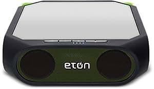 Eton Rugged Rukus Solar-powered, Bluetooth, smartphone-charging speaker, Green, NRKS200GR