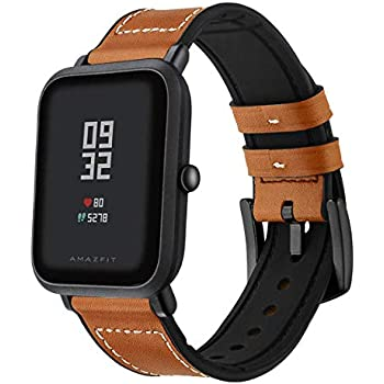 Amazon.com: Troyalroom Strap for Amazfit Bip Youth - 20mm ...