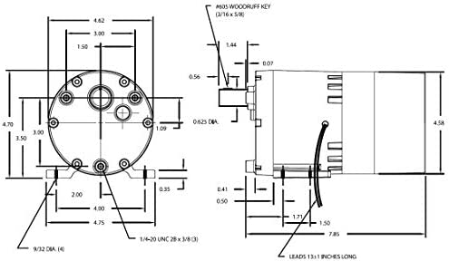 12 Lead Motor Wiring Diagram Dayton