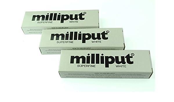 3 x Milliput extrafina blanco. Ideal para modelado, restauración y Escultura. (x1018b) fosforito: Amazon.es: Bricolaje y herramientas