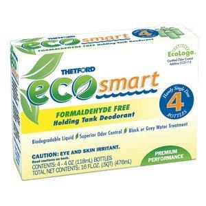 Price comparison product image Thetford Eco-Smart Holding Tank Deodorant - Formaldehyde Free Formula - 4 oz. 4-Pack