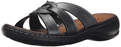 (Skechers Women's Passenger Getaway Dress Sandal,Pewter/Black,7 M US)