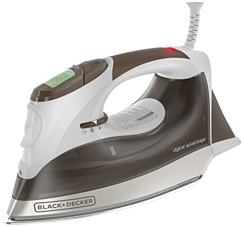 Black & Decker D2630 Auto-Off Digital Advantage Iron, Bronze