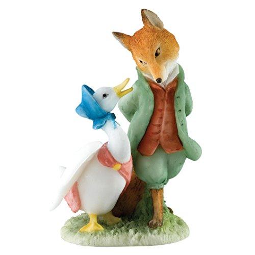 Enesco Beatrix Potter Miniature Figurine - Jemima & The Foxy-Whiskered Gentleman (A27676) ()