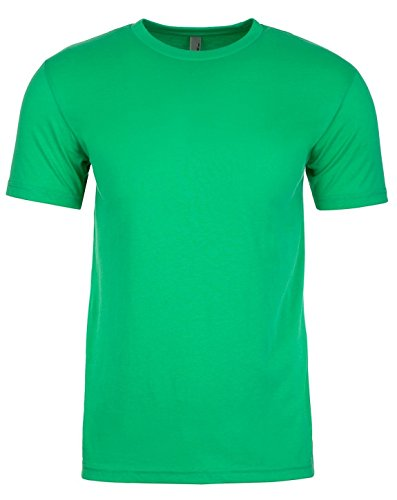Next Level NL6410 Mens Fitted Sueded Tee - Envy - 3X