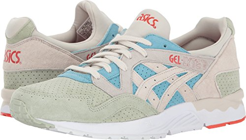 ASICS Tiger  Men's Gel-Lyte V Reef Waters/Birch 5 D US