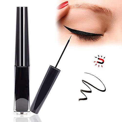 New Magnetic Eyeliner Black Liquid Eyeliner Long Lasting Waterproof Eye liner Makeup Cosmetics for Applying Magnetic Eyelashes - 4ml