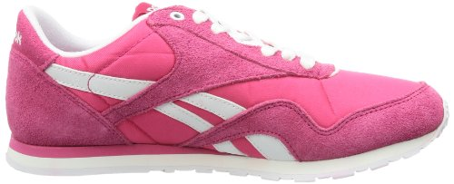 ste Rouge candy top Nylon Cl Reebok Rot Pink Low Slim Femme white YUqPYTAx