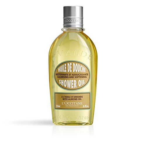LOccitane Cleansing & Softening Almond Shower Oil, 8.4 fl. oz.