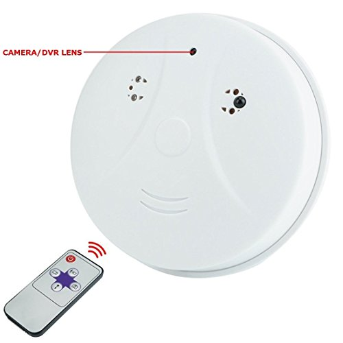 Remote Control Camera Smoke Detector HD Video Motion Detection Wireless Hidden Spy Cam & Mini DVR SP06