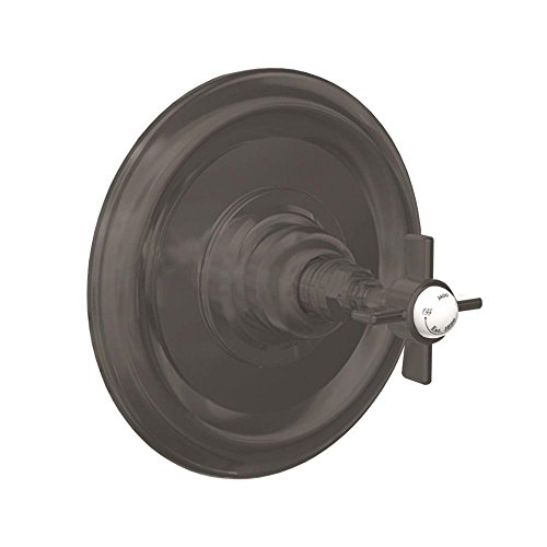 Jado * Savina Single-Handle Shower Valve in Old Bronze with Cross Handle ()