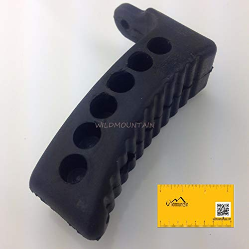 Mt Sunrise Mosin Nagant Rubber Butt Pad M44 91/30 M48 with free magnet