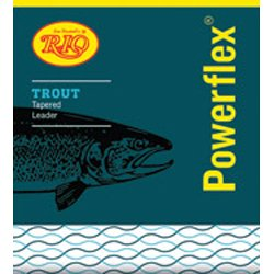 Rio Powerflex Trout 12Ft 5X 5.0Lb Leader, Outdoor Stuffs
