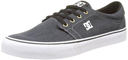 DC Trase TX SE Shoes In Black Grey UK 7