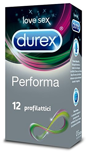 42 opinioni per Durex Performa Preservativi, 12 Pezzi