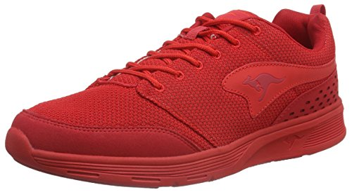 KangaROOSCurrent - Zapatillas Unisex adulto Rojo - Rot (flame red 670)