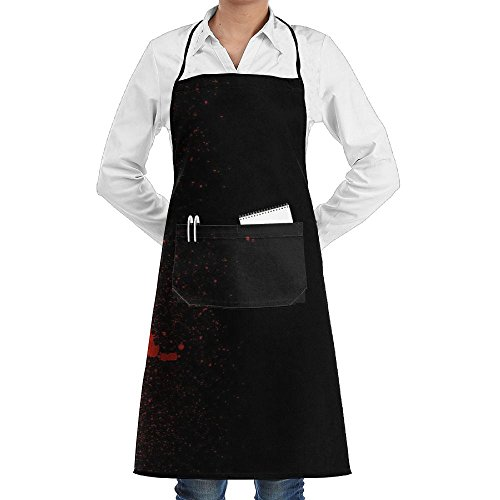 (Microphone Sewing Aprons With Pocket Kits Adjustable Home Kitchen)