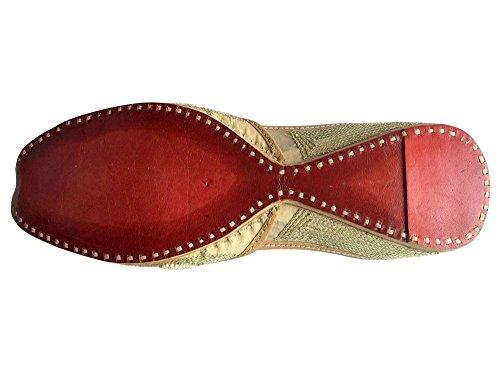 Step n Style Schritt N Style Hand bestickt Leder Juti Damen mojari jutti Khussa indischen Schuhe