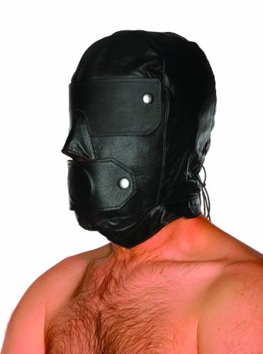 Spartacus Slave Hood and Gag, Black by Spartacus