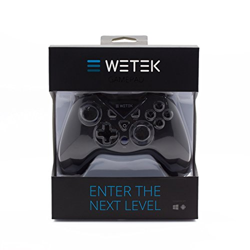 Gamepad / Joystick WeTek for Android systems (smart boxes, mobile phones and smartphones, tablet, mobile gaming), Amazon Fire TV, Gamefly, Steam OS and Windows PC USB 2.0 Bluetooth Wireless Li-Battery by WeTek (Image #5)